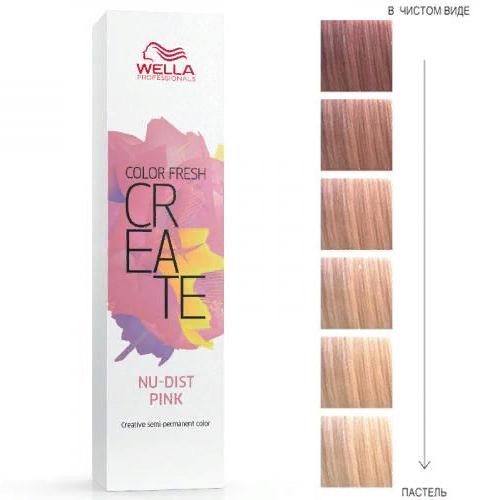 Краска Color Fresh Create, пудровый розовый, 60 мл