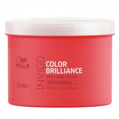 Invigo Color Brilliance Маска-уход для окрашенных нормальных и тонких волос, 500 мл