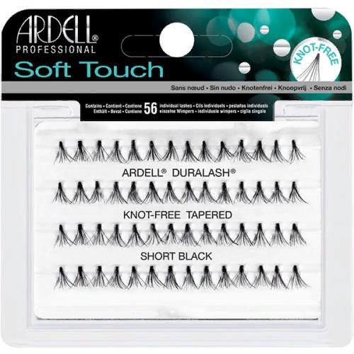 Пучки ресниц Soft Touch безузелковые, ультралегкие, короткие