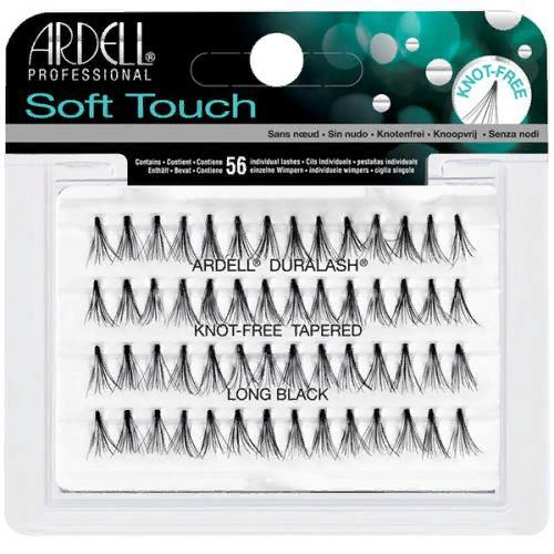 Пучки ресниц Soft Touch безузелковые, ультралегкие, длинные