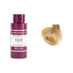 Megapolis Безаммиачный масляный краситель 10/0 светлый блондин, 50 мл