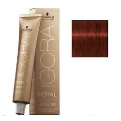 Igora Royal Absolutes 6-80 Крем-краска Темный русый красный натуральный