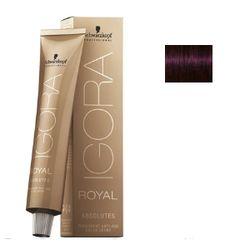 Igora Royal Absolutes 4-90 Крем-краска Средний коричневый фиолетовый натуральный