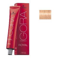 Igora Royal 9,5-49 Крем-краска Светлый блондин пастельный перламутровый