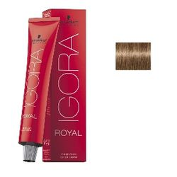Igora Royal 8-00 Крем-краска Светлый русый натуральный экстра