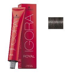 Igora Royal 6-12 Крем-краска Темный русый сандрэ пепельный