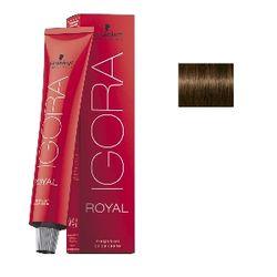 Igora Royal 5-4 Крем-краска Светлый коричневый бежевый
