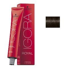 Igora Royal 4-13 Крем-краска Средний коричневый сандрэ матовый