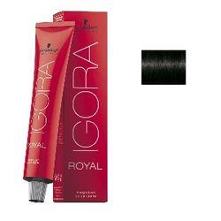 Igora Royal 1-0 Крем-краска Черный натуральный