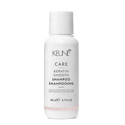 Шампунь Кератиновый комплекс / CARE Keratin Smooth Shampoo, 80 мл