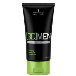 [3D]MEN Гель для волос сильной фиксации, 150 мл