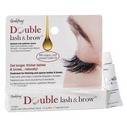 Масло-активатор роста бровей и ресниц Godefroy Double Lash&Brow Organic Oil