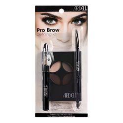 Набор Ardell для окрашивания и коррекции бровей, с кистью и восковым карандашом