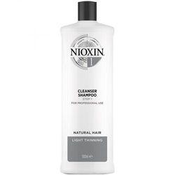 Шампунь очищающий Nioxin Система 1, 1000 мл