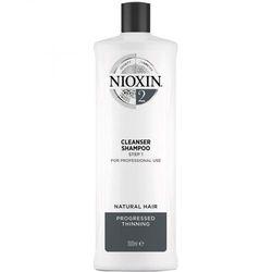 Шампунь очищающий Nioxin Система 2, 1000 мл