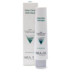 Маска очищающая для лица с глиной и АНА-кислотами