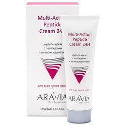 Мульти-крем с пептидами и антиоксидантами Multi-Action Peptide Cream 24H, 50 мл