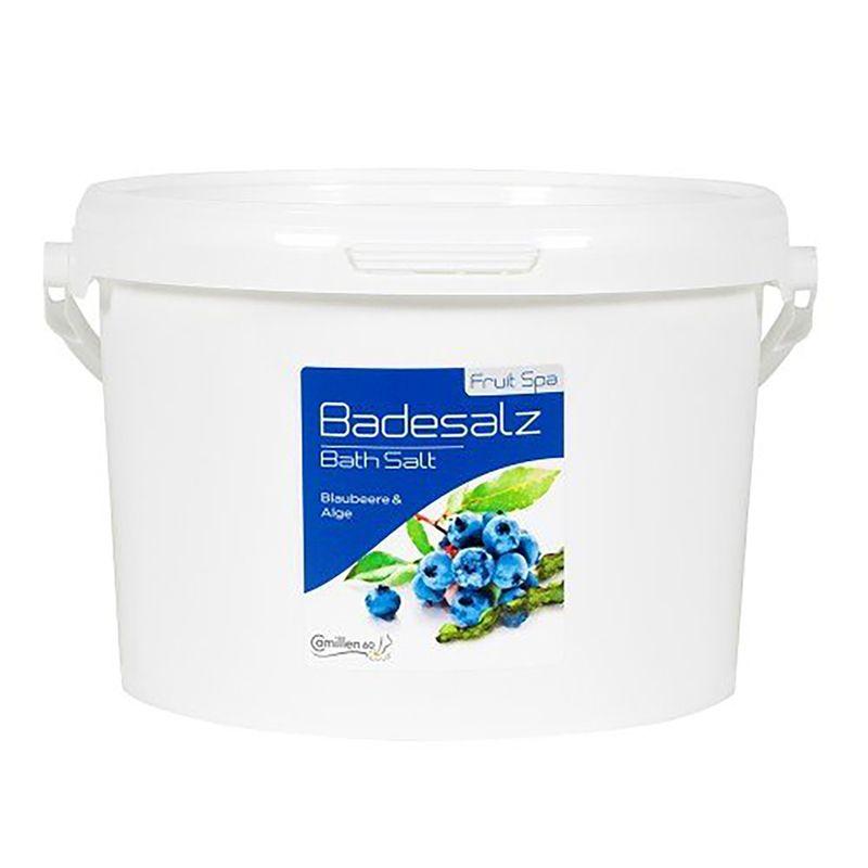 Соль для ножных ванн черника, водоросли, укрепляющая, 5000 г