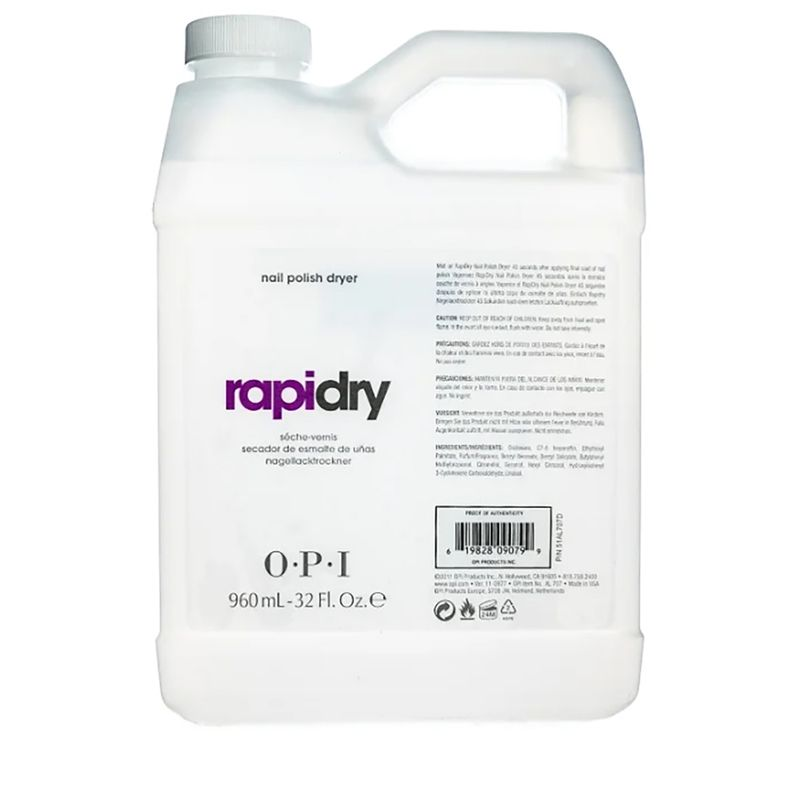 Жидкость для быстрого высыхания лака RapiDry Spray Nail Polish Dryer