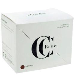 Краска для бровей brown (коричневый) с окислителем