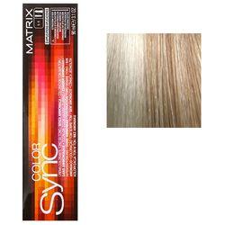 Color Sync Крем-краска для волос 10A, очень-очень светлый блондин пепельный, 90 мл