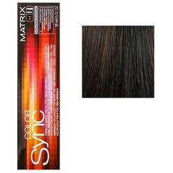 Color Sync Крем-краска для волос 4A, шатен пепельный, 90 мл
