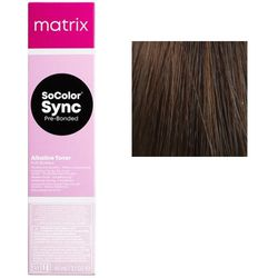 SoColor Sync Pre-Bonded Крем-краска 6N темный блондин, 90 мл