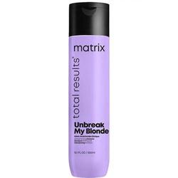 Шампунь укрепляющий Total Results Unbreak My Blonde для осветленных волос, 300 мл