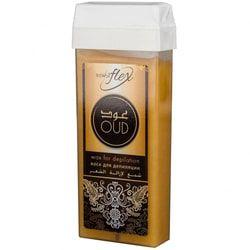 Italwax Воск Flex в картридже, Oud Parfum для жестких, коротких и темных волос, 100 мл