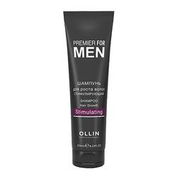 Premier for Men Шампунь для роста волос стимулирующий, 250 мл