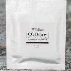 Хна для бровей CC Brow (dark brown) в саше (темно-коричневый), 5 г