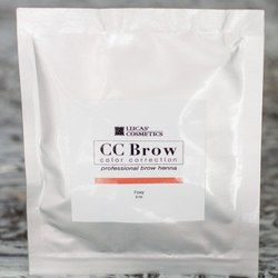 Хна для бровей CC Brow (foxy) в саше (рыжий), 5 г