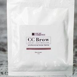 Хна для бровей CC Brow (grey brown) в саше (серо-коричневый), 5 г