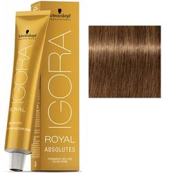Крем-краска Igora Royal Absolutes 7-50, средний русый золотистый натуральный, 60 мл