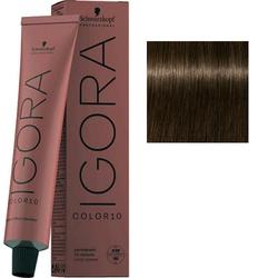 Крем-краска стойкая Igora Color 10, 5-0 светлый коричневый натуральный, 60 мл
