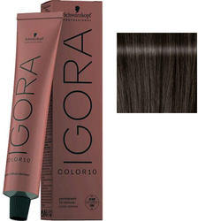 Крем-краска стойкая Igora Color 10, 5-12 светлый коричневый сандрэ пепельный, 60 мл
