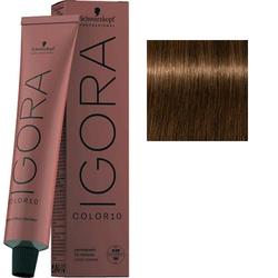 Крем-краска стойкая Igora Color 10, 5-5 светлый коричневый золотистый, 60 мл