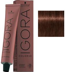 Крем-краска стойкая Igora Color 10, 5-68 светлый коричневый шоколадный красный, 60 мл