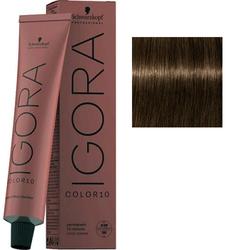 Крем-краска стойкая Igora Color 10, 6-0 темный русый натуральный, 60 мл