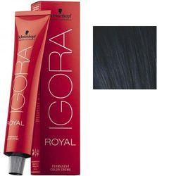 Igora Royal 1-1 Крем-краска Черный сандрэ, 60 мл