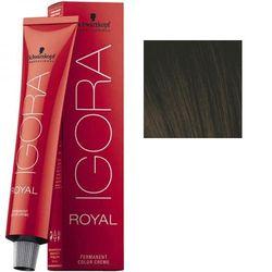 Igora Royal 3-0 Крем-краска Темный коричневый натуральный, 60 мл