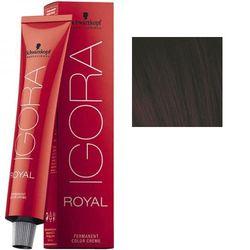 Igora Royal 3-68 Крем-краска Темный коричневый шоколадный красный, 60 мл