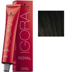 Igora Royal 4-13 Крем-краска Средний коричневый сандрэ матовый, 60 мл
