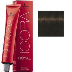 Igora Royal 4-63 Крем-краска Средний коричневый шоколадный матовый, 60 мл