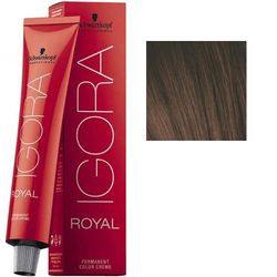 Igora Royal 6-68 Крем-краска Темный русый шоколадный красный, 60 мл