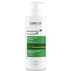 Dercos Шампунь-уход интенсивный против перхоти для сухой кожи головы и сухих волос, 390 мл