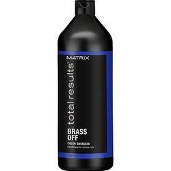 Color Obsessed Brass Off Кондиционер для глубокого питания волос оттенка Холодный блонд, 1000 мл