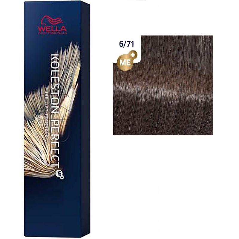 Koleston Perfect ME+ Стойкая крем-краска для волос, 6/71 Королевский соболь