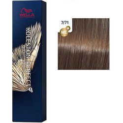 Koleston Perfect ME+ Стойкая крем-краска для волос, 7/71 Янтарная куница