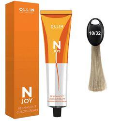 N-JOY Крем-краска для волос 10/32 светлый блондин золотисто-фиолетовый